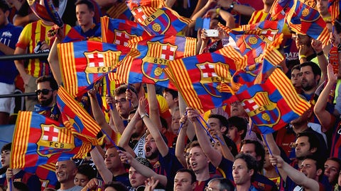 Wave of blaugrana