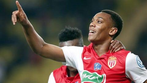 Anthony Martial, Striker, Monaco