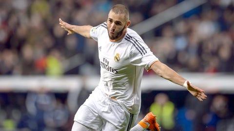 Karim Benzema, Striker, Real Madrid