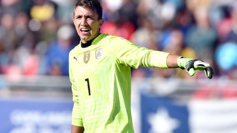 GK: Fernando Muslera (Uruguay)