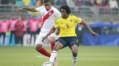 DCM: Carlos Sanchez (Colombia)