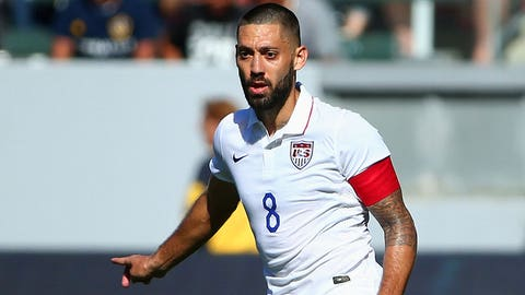 United States forward Clint Dempsey