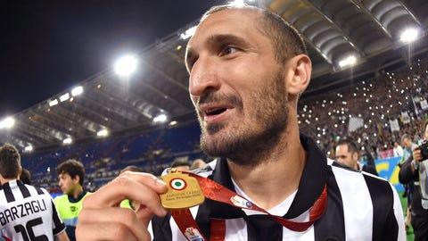 Giorgio Chiellini, Defender, Juventus