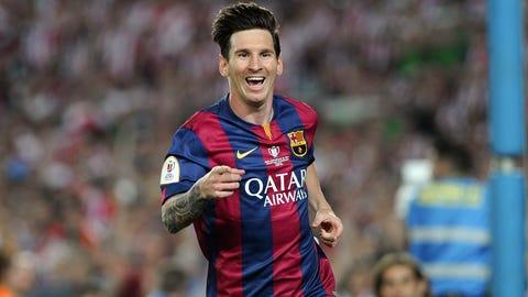 Lionel Messi, Forward, Barcelona