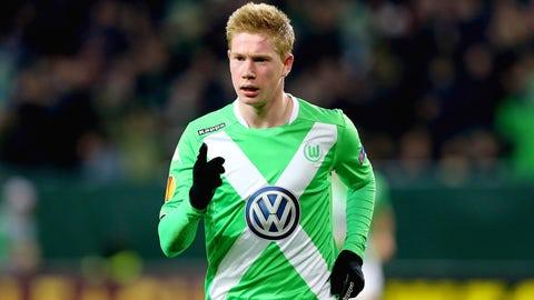Kevin de Bruyne, Midfielder, Wolfsburg
