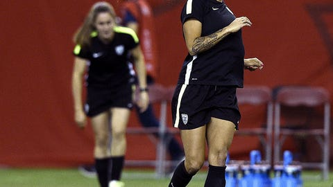 Has Ellis dropped Sydney Leroux and Christen Press?