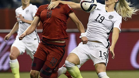 Julie Johnston's big moment