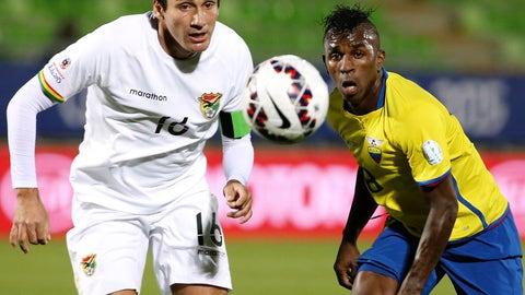 Shock of the tournament: Bolivia defeat Ecuador