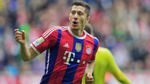 Robert Lewandowski (Borussia Dortmund to Bayern Munich)