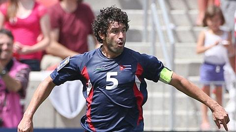 Cuba defender Jorge Luis Clavelo