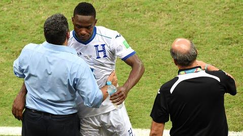 Honduras defender Maynor Figueroa