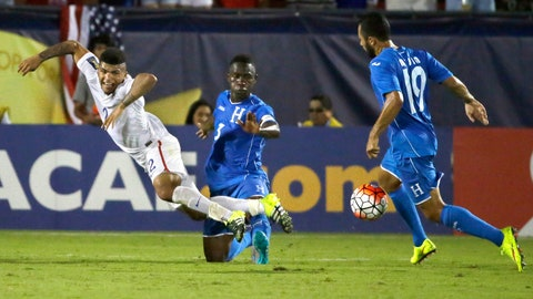 2015 CONCACAF Gold Cup: USA vs. Honduras