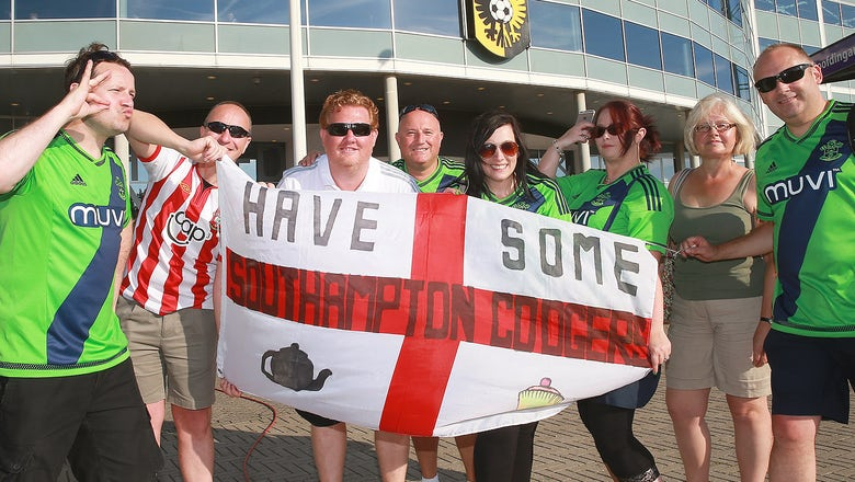 Fans clash ahead of Southampton's Europa League qualifier against Vitesse Arnhem