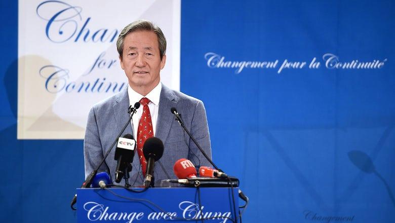 Chung blasts 'cynical' FIFA ethics probe of charity money