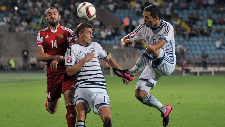 Armenia frustrate Denmark in Euro 2016 qualifier draw