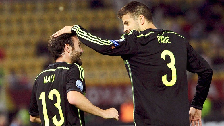 Spain edge Macedonia to boost lead in Group C of Euro Qualifying