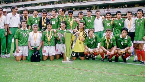 July 25, 1993: El Tri trash USA to claim first Gold Cup trophy