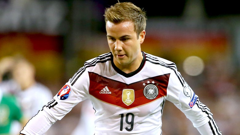 Germany's Gotze ruled out for 10-12 weeks with groin injury