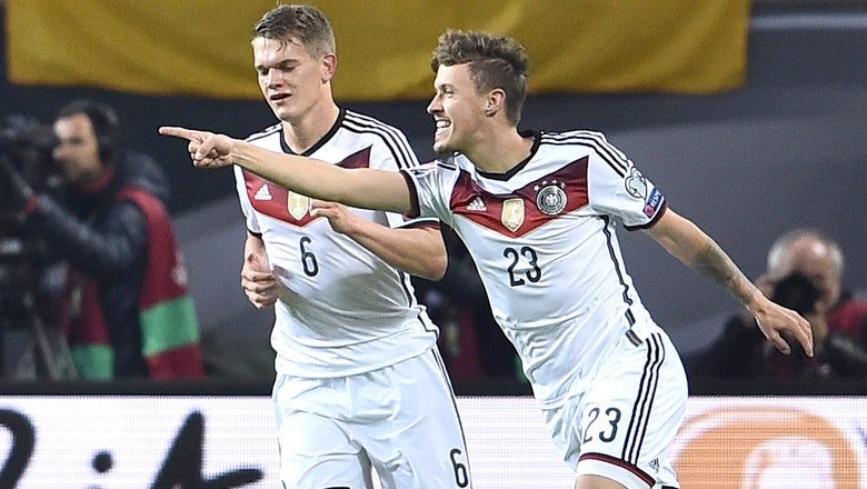 Euro 2016: Germany hold off plucky Georgia to win group, Scotland thump Gibraltar