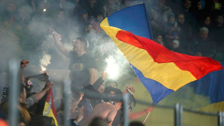 UEFA charges Moldova over fans' racist flags at Russia game