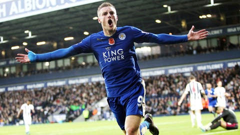 Leicester are third