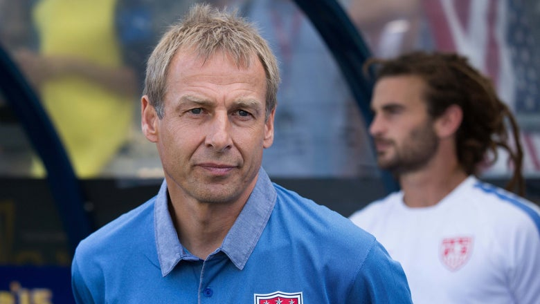 Plane flies #FireKlinsmann banner over USA-Guatemala