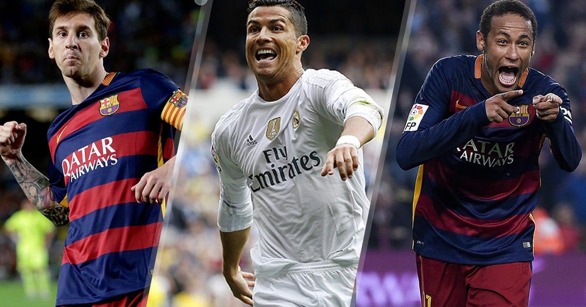 عکس های ضد مسی و رونالدو