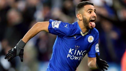 Riyad Mahrez, Leicester City – €78.1m