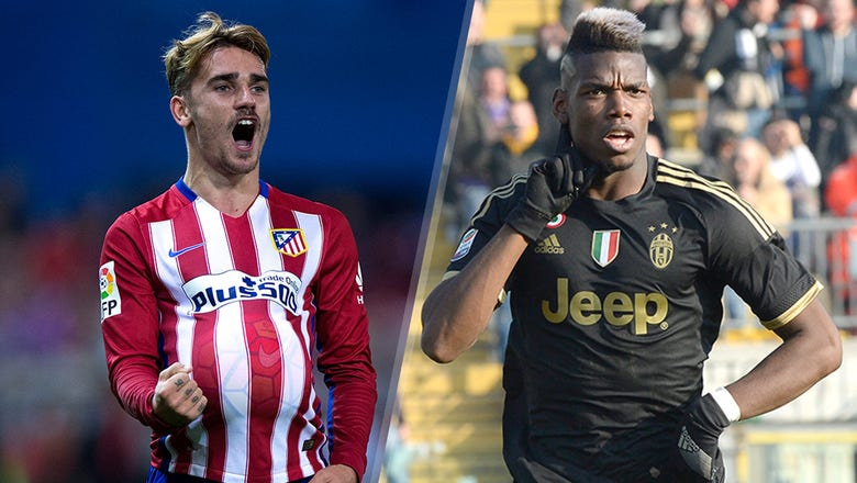 Chelsea plot double swoop for French duo Griezmann, Pogba