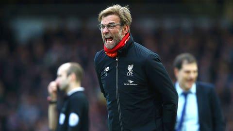 Jurgen Klopp's fury at Liverpool's effort