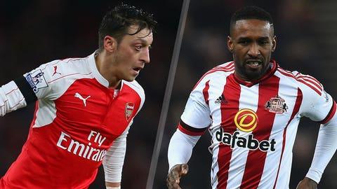 Arsenal vs. Sunderland (Saturday, 10 a.m. ET, FS1)