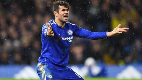 Chelsea, Diego Costa frustrated again