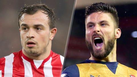 Premier League: Stoke v Arsenal (Sunday, 11:15 a.m. ET, NBC nets)
