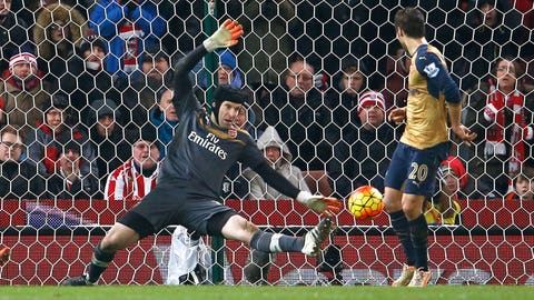 Arsenal stall – but stay top