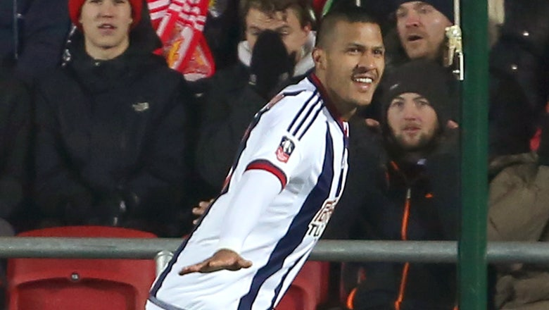 Rondon gives West Brom narrow FA Cup replay win vs. Bristol City