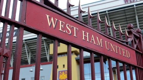 20. West Ham United (Premier League) -- $175 million