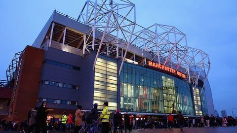 3. Manchester United (Premier League) -- $565.5 million