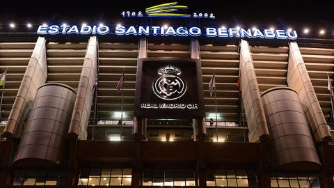 1. Real Madrid (La Liga) -- $627.9 million
