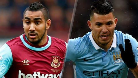 West Ham vs. Manchester City (Saturday, 12:30 p.m. ET, NBC)
