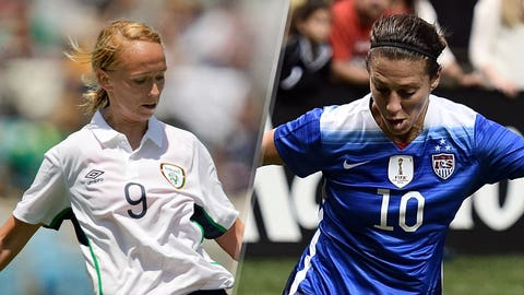 USA vs. Ireland (Saturday, 5 p.m. ET, FS1)