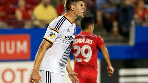 Is Steven Gerrard ready to play an integral role for LA Galaxy?