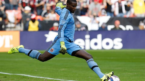 How much will Bill Hamid's absence hurt D.C. United?