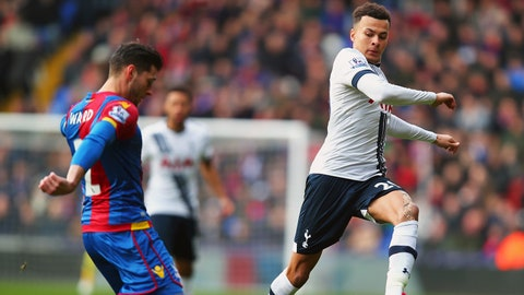 Stud: Dele Alli (Tottenham Hotspur)