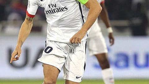 Zlatan Ibrahimovic (Paris St. Germain to Manchester United)