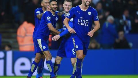 10. Leicester City (Premier League)