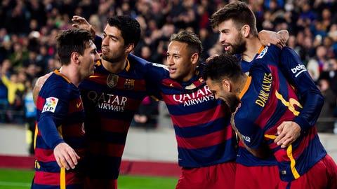 1. Barcelona (La Liga)