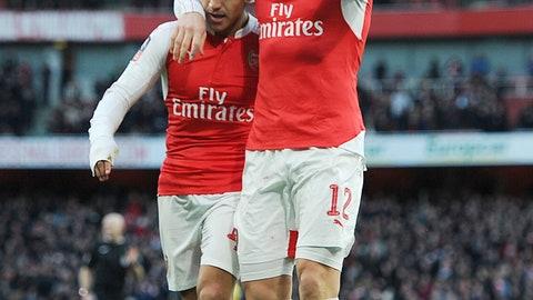 Stud: Alexis Sanchez (Arsenal)