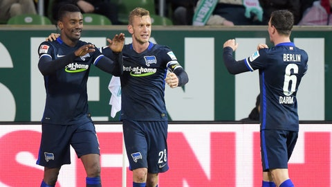 Hertha capable of challenging