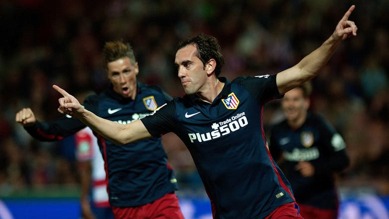 Chelsea plot move for Atletico's Godin as Terry replacement