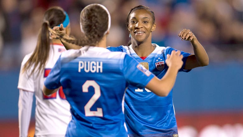 Dunn joins rare company as USWNT inch closer to Rio